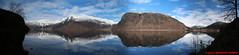 Hornindalsvatnet - Holmoyane - panorama (soyouz) Tags: geo:lat=6195674200 geo:lon=647659100 geotagged grods hornindal nor norvge sognogfjordane lac montagne neige panorama paysage hornindalsvatnet norvegela