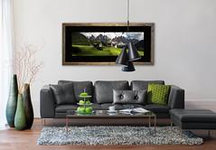 Wood frame panoramic Salon 1 (StephAnna :-)) Tags: sales artprint frame acryl glass living room bed bedroom deco art examples bilder ramen einramungen verkauf kunst encadrement vendre decoration chambrecoucher modern moderne bois verreacrylique acrylglas