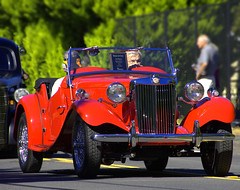 Best In Show (swong95765) Tags: mg car sportscar vehicle parade 1950 beauty automobile