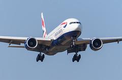 British Airways B777-200 G-YMMS (Johannes_K) Tags: baw ba british airways triple seven boeing b777 b772 b777200 rr rolls royce rollsroyce trent 800 landing aviation aircraft lgw egkk london gatwick airport gymms
