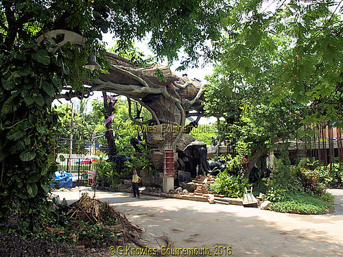 Dusit Zoo, Khao Din Park, Rama 5 road, Dusit District, Bangkok, Thailand.