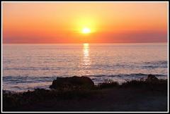 Coucher de soleil  -  le de Noirmoutier (Les photos de LN) Tags: sunet lumire couleurs rochers ledenoirmoutier vende