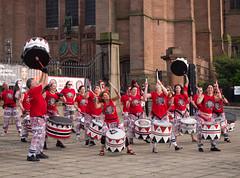 Batala Mersey Samba Drumming Band (Matthew Usher) Tags: liverpool uk mersey anglican cathedral church batala samba drumming band drums