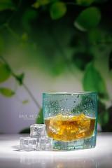 _MG_8191-Editar (raulmejia320) Tags: aprobado producto leche ron agua hielo azul green verde blue glass milk