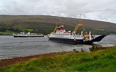 Balmoral & Loch Dunvegan (Zak355) Tags: mvbalmoral balmoral ship boat vessel rothesay isleofbute bute scotland scottish riverclyde shipping cruise tour lochdunvegan calmac ferry rhubodach