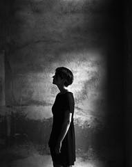 Gosia (byfer / Fernando Ocaa) Tags: speedgraphic 4x5 largeformat film ilford fp4 bw portrait retrato sweden lidkping