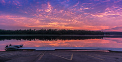 Launch of a New Day (johnjmurphyiii) Tags: 06457 clouds connecticut connecticutriver dawn harborpark middletown originalnef sky summer sunrise tamron18270 usa johnjmurphyiii pano cloudsstormssunsetssunrises cloudscape weather nature cloud watching photography photographic photos day theme light dramatic outdoor color colour panorama stitch