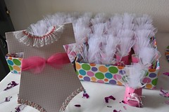 onesie and favor (Thong Bartlett) Tags: baby shower onesie party favor mm candies