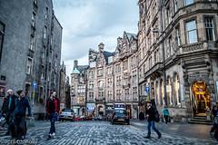 twilight on the royal mile (aprilpix) Tags: edinburgh streetscene scotland architecture twilight cityscape