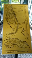 FEC Map (Terry Hassan) Tags: usa florida miami palmbeach flaglermuseum whitehall mansion museum floridaeastcoastrailway map