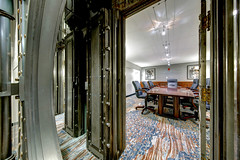 Bank vault converted to meeting room (WabbyTwaxx) Tags: bank vault marriott baltimore springhill suites