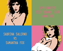 Sabrina Salerno vs. Samantha Fox (Donna Perfetta.com) Tags: