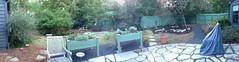 "my ""new"" back yard (mimbrava) Tags: panorama backyard mimbrava arr allrightsreserved sideyard hardscaping iphone5 mimeisenberg mimbravastudio landspacing outsidelandscapegroup"