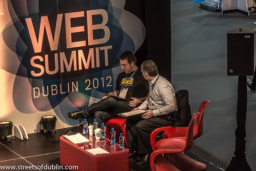 Web Summit 2012 In Dublin (Ireland)