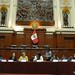 UN Women Executive Director Michelle Bachelet visits Peru's Congress to meet with women leaders from various political parties