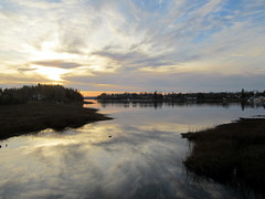 IMG_1987 (Tee Flemming) Tags: autumn sunset lake clouds october pelicanlake octobersunset siouxlookout
