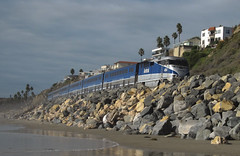 San Clemente Amtrak Pacific Surfliner (3758) (DB's travels) Tags: california railroad train amtrak transit orangecounty tempcrr