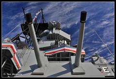 USS Iowa 8501 (maguire33@verizon.net) Tags: california losangeles unitedstates navy battleship gps naval geotagging ussiowa canonef24105mmf4lisusm canongpe2