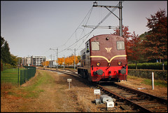 20121019 SMMR 2225 in Kerkrade (Koen Brouwer) Tags: oktober station train diesel gare zug bahnhof krd trein 2012 kerkrade zlsm 2225 smmr miljoenenlijn