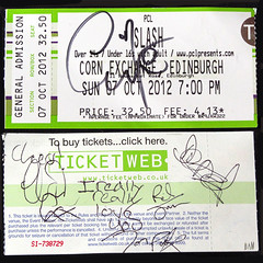 My signed ticket (Mitchypop) Tags: 2012 denzel randomjonpoole richjones gingerwildheart chriscatalyst