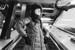Mikolaj's Ascension Into Heaven (Rubin Starset) Tags: blackandwhite usa newyork film 35mm subway iso100 us blackwhite kodak tmax escalator tmax100 tmx blackandwhitefilm printfilm blackwhitefilm geo:city=newyork geo:state=newyork camera:make=canon geo:lon=73989927 exif:make=canon film:brand=kodak film:iso=100 film:format=35mm mikolajhabryn film:type=bwprint geo:countrys=usa film:tag=tmx exif:model=eosrebelk2 camera:model=eosrebelk2 geo:lat=40723372
