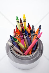 high angle shot of wax crayons rolled up in silver paper (edunaza8877) Tags: childhood closeup silver paper creativity photography education colorful drawing details sketching nobody nopeople sharp indoors whitebackground cropped wax isolation variety crayons multicolored stationery arrangement variation isolated backtoschool palette conformity coloredpencil identical detailed pointed arranged schoolsupplies rolledup partof artandcraft colorimage largegroupofobjects crayondrawing writinginstrument worktool craftmaterial silverpaper waxcrayons descriptivecolor