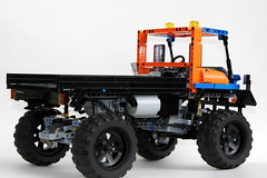 Mack Marble 5T Rear (thirdwigg) Tags: lego offroad 4x4 i5 suspension m technic xl trial driveline legotechnic portalaxle powerfunctions trialtruck
