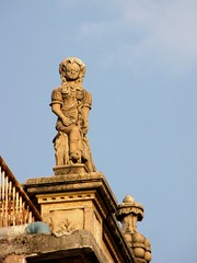 Unique statue on rooftop in old city house, Ahmedabad (Divyesh Nagar) Tags: world life people sculpture india color colour building art heritage love monument architecture composition underground temple nikon vishnu god islam memories steps culture mosque structure symmetry balance shiva hindu archeology minar oldcity gujarat ahmedabad walledcity indianart suntemple stepwell ramkund adalaj oldstructure waterstorage lordvishnu adalajstepwell adalajnivav modherasuntemple adalajvaav divyeshnagar ranikivaav