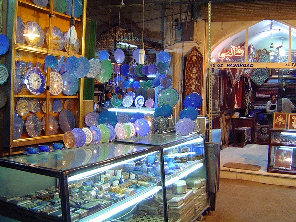 Иран, Исфахан, базар