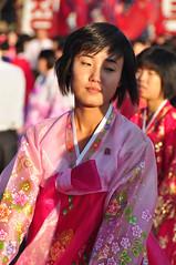 DSC_0215 (yackshack) Tags: travel woman girl nikon asia asien north korea explore mass pyongyang dances corea dprk coreadelnorte nordkorea wpk d5000 coredunord coreadelnord   pjngjang workerspartyofkorea dvrk