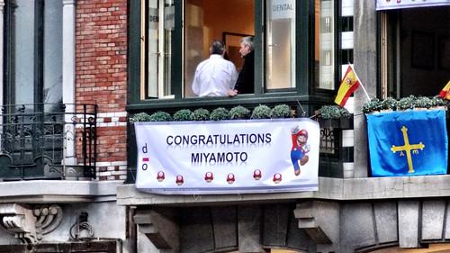 Congratulations Miyamoto