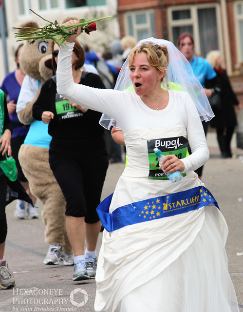Great South Run - The Bride