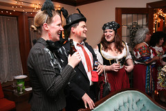 (Jean Arf) Tags: chris party halloween pie interior rochester annie bonnie bellevue 2012 southwedge nightofthelivingpies smokindopes nightofthelivingpiesiv nightofthelivingpies4