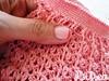 Delicadeza... (_Lilica_) Tags: crochet rosa unhas unha delicadeza crochê vestidinho unhasdalilica vestidinhoemcrochê