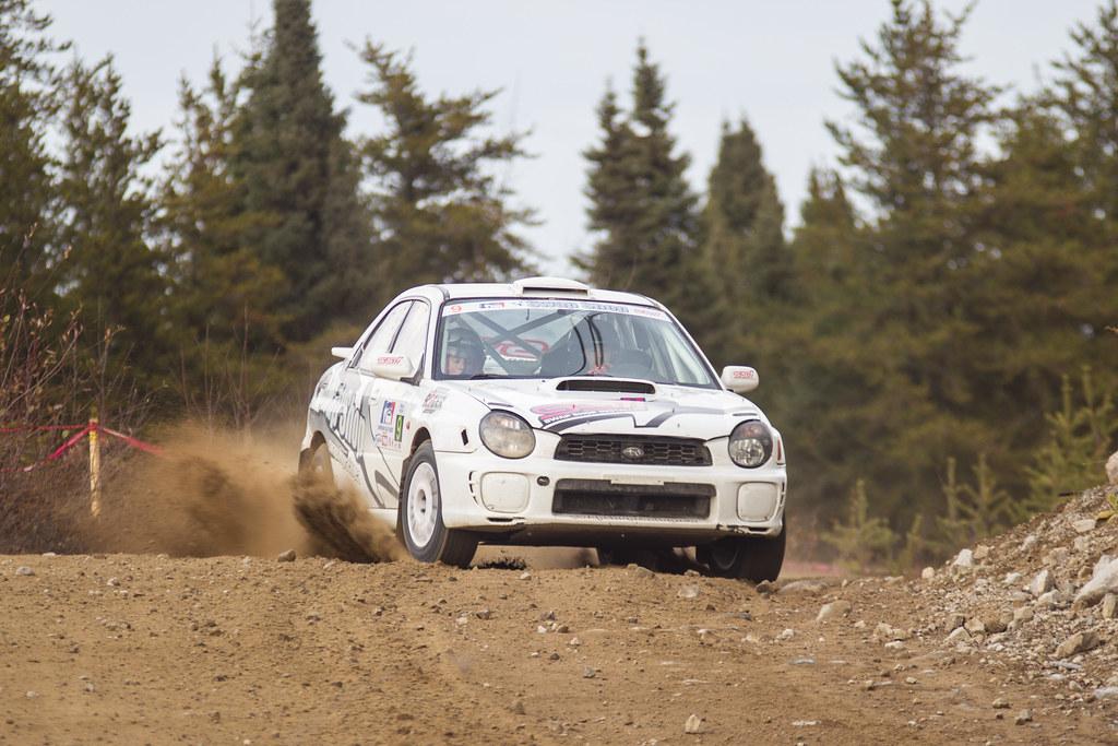 Alexandre Béland / Lyne Murphy - Rallye de Charlevoix 2012