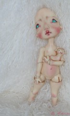 makeup and body blushing commission (heliantas) Tags: doll handmade suzy bjd kane humpty dumpty faceup nefer