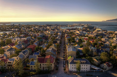 Ths sky over Reykjavik (Fil.ippo) Tags: city travel sky panorama house island casa iceland nikon cityscape reykjavik cielo viaggio hdr filippo citt islanda d7000 filippobianchi