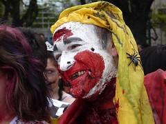 Payaso (FernandoRey) Tags: argentina buenosaires buenos aires zombie walk clown it payaso 2012 pion zombiewalk fijo