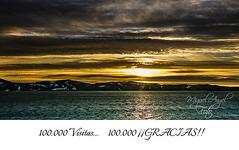 100.000 Visitas (M.A.Fernndez) Tags: sunset landscape iceland islandia europe flickr sony favorites paisaje colores puestadesol carlzeiss sonyalpha