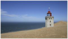 Rubjerg Knude lighthouse (Svein Bjerkholt) Tags: sea lighthouse canon denmark sand rubjerg fyrtrn hjrring abigfave lighthousetrek lightkeeperaward mygearandme me2youphotographylevel1 beautryful sveinbjerkholt