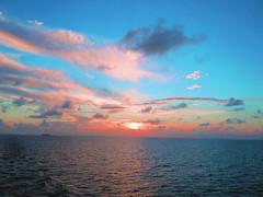 "#CaribbeanSunset ... from the #Bahamas to #Bermuda ... (RenateEurope) Tags: ocean camera cruise autumn sunset sea sky water clouds sunrise reflections nikon ship coolpix multicolored atlanticocean 2012 kreuzfahrt onsea thegalaxy bahamasnassau bermudahamilton aidaluna s8000 ""nikonflickraward"" quartasunset northamericacoast newyorkbaltimorecharlestoncapecaneveralmiami aidalunadeparture onthewaytobermuda"