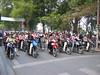 Motorbikes on a Hanoi street (mbphillips) Tags: fareast southeastasia vietnam 越南 ベトナム 베트남 asia アジア 아시아 亚洲 亞洲 mbphillips canonixus400 geotagged photojournalism photojournalist hanoi capital 首都 수도