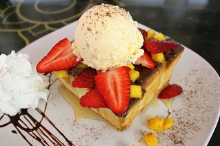Honey Brick Toast Dessert