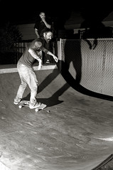 Skateboarders (Curtis Gregory Perry) Tags: white black oregon portland noche nikon ramp nacht pipe nat half skateboard noite nuit notte nos natt malam skateboarder noc ntt   nag gece noapte  d300   no m    nakts  oche       gauean