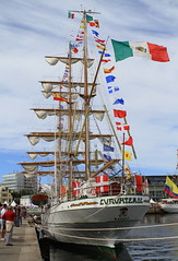 IMG_1668 (Paco Gonzlez1) Tags: puerto muelle corua barco cuttysark 2012 velero tallshipsrace trasatlantico