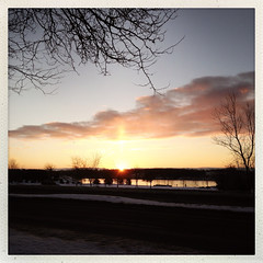 365: Day 15 (Richard Pilon) Tags: city winter sky sun ontario canada clouds sunrise river cornwall january day15 stlawrenceriver iphone januarythaw day15365 iphoneography hipstamatic 3652013 365the2013edition 15jan13