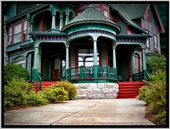 500 N McBride St ~ Syracuse NY ~ Architecture ~ Queen Anne/Victorian (Onasill) Tags: county new york house ny tower window st architecture anne state balcony victorian n style historic queen porch mission syracuse mansion 500 1001nights turret gable mcbride onondaga 1001nightsmagiccity onasill