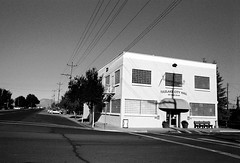 Tulelake (Peter Gutierrez) Tags: california ca old city bw usa white lake black building abandoned america buildings town hall us photo ruins decay united ruin peter american gutierrez states siskiyou decayed californian tule tulelake petergutierrez