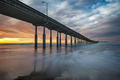 OB Pier 3 (mojo2u) Tags: ocean california sunset pier sandiego oceanbeach nikon2470mm nikond800