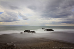 slowly day (Agus Widodo) Tags: sea sky bali beach water stone day mood density ambiance neutral seseh